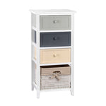 Artiss Bedroom Storage Cabinet - White - b-organized