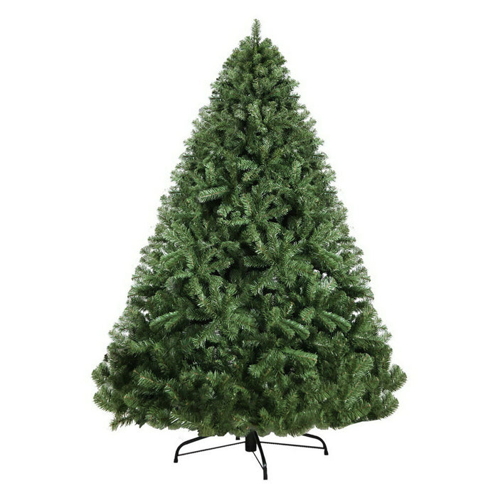 Jingle Jollys 2.4M 8FT Christmas Tree Xmas Decoration Home Decor 1500 Tips Green - b-organized