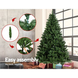 Jingle Jollys 6FT Christmas Tree - Green - b-organized