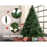 Jingle Jollys 9FT Christmas Tree - Green - b-organized