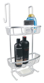 Cove Over The Door Shower Caddy - Light Weight With All The Right Features - b-organized