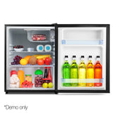 Devanti 70L Portable Mini Bar Fridge - Black