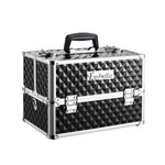 Embellir Portable Cosmetic Beauty Makeup Case - Diamond Black - b-organized