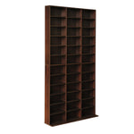 Artiss Adjustable Book Storage Shelf Rack Unit - Expresso - b-organized