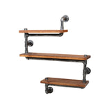 Artiss 3 Level 84cm DIY Adjustable Metal Bookshelf - b-organized