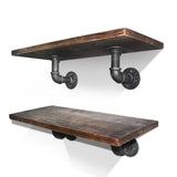 Artiss 6inch 9 Piece Wall Mounted Shelf Set - b-organized