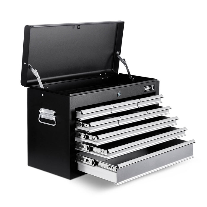 Giantz 9 Drawer Mechanic Tool Box Storage - Black & Grey - b-organized