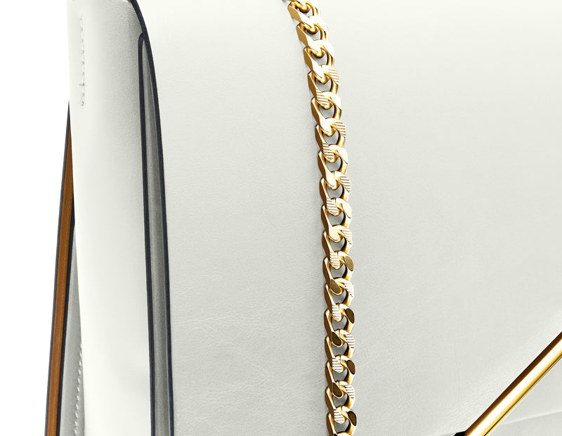 Novae Res Chain Handbag Strap in Gold