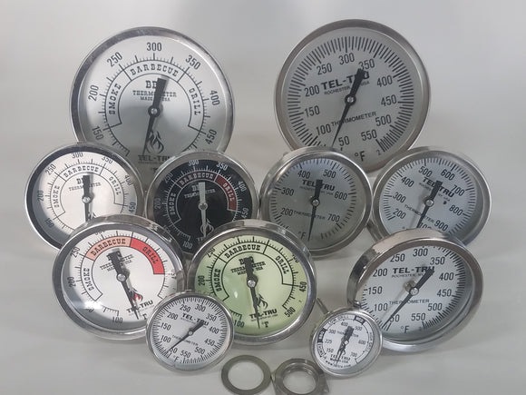 All Tel Tru BBQ Thermometers