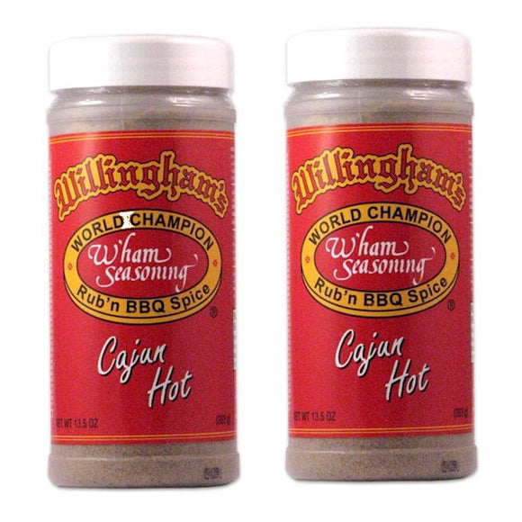 WILLINGHAM'S Cajun Hot bbq Seasoning