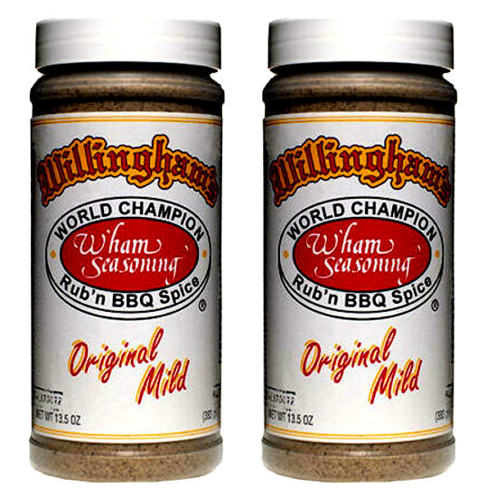 WILLINGHAM'S Original Mild bbq Seasoning
