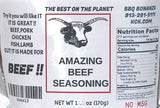 Amazing Beef Seasoning BBQ Bonanza Original