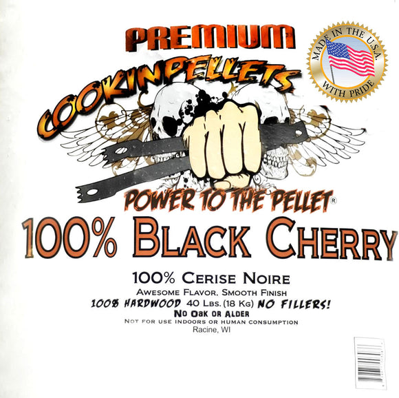 Cookin pellets great for BBQ 100% Black Cherry