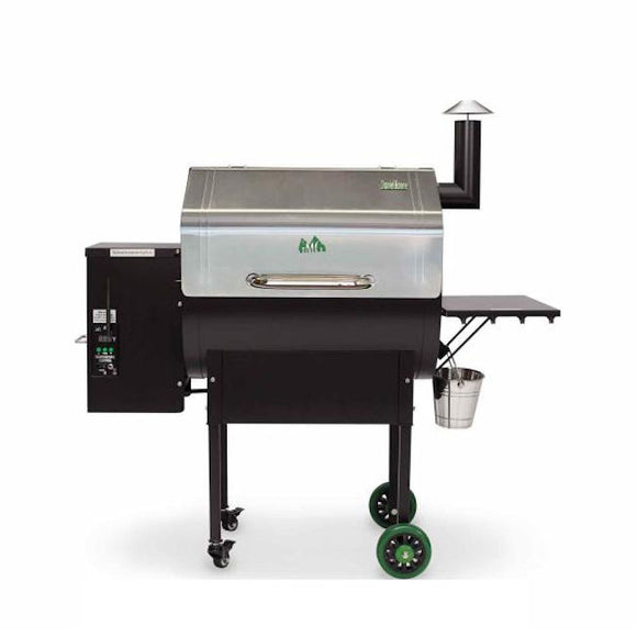 Green Mountain BBQ Pellet Grills Daniel Boone with Wifi ss lid
