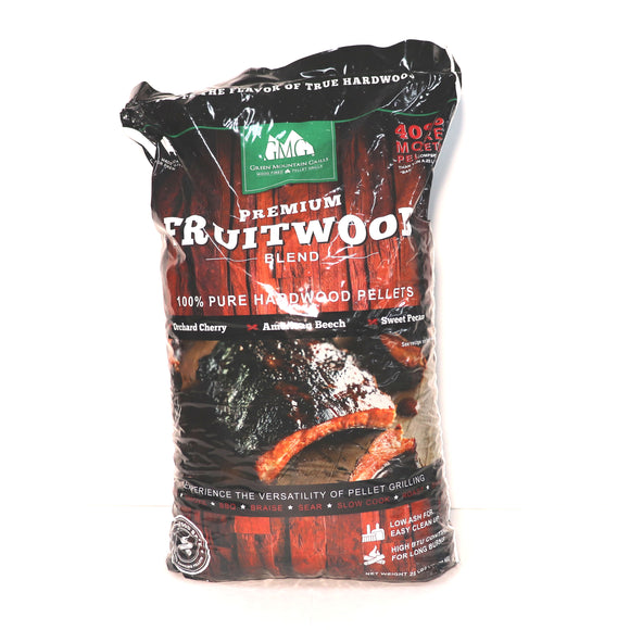 Green Mountain Grills Fruit wood-blend