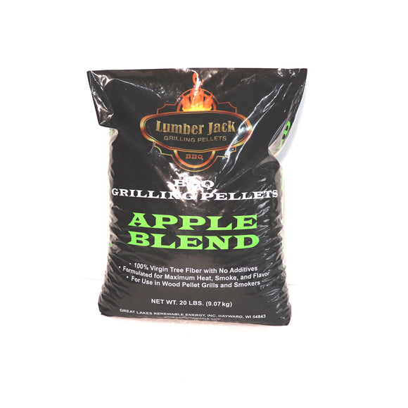 Apple Blend BBQ Pellets Lumber Jack