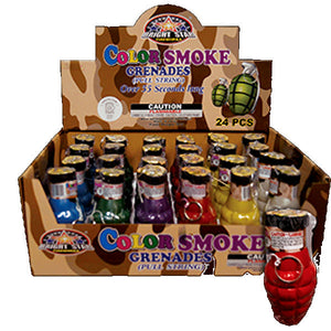 Color Smoke Grenade Boom