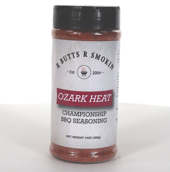 R Butts R Smokin Ozark Heat Rub Front