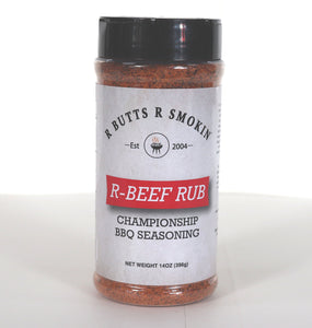 R Butts R Smokin R- Beef Rub Front