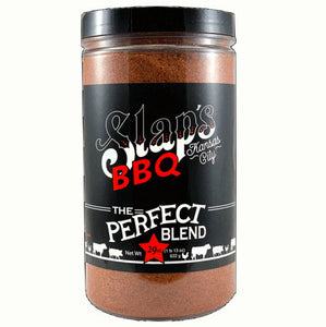 This is a 29 oz. bottle of Slaps Rub-Spice