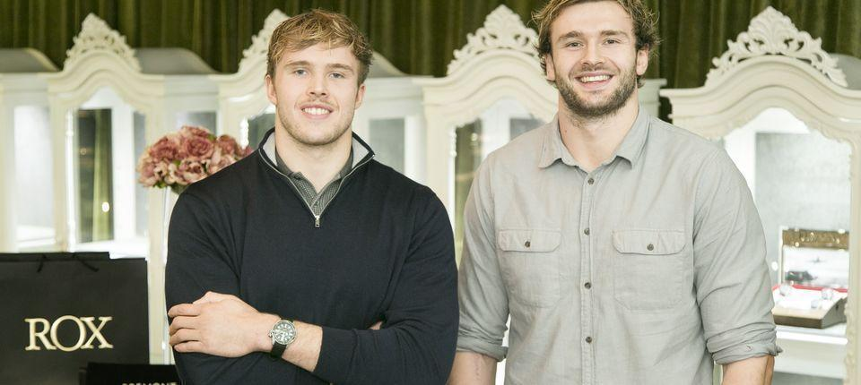RUGBY STARS AND BROTHERS RICHIE AND JONNY GRAY