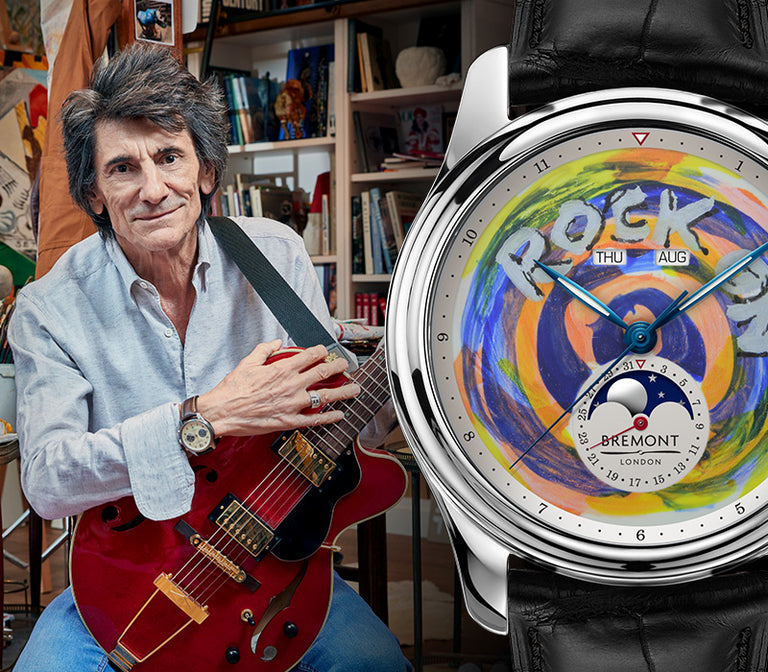 Bremont Ronnie Wood Hero Banner Mobile