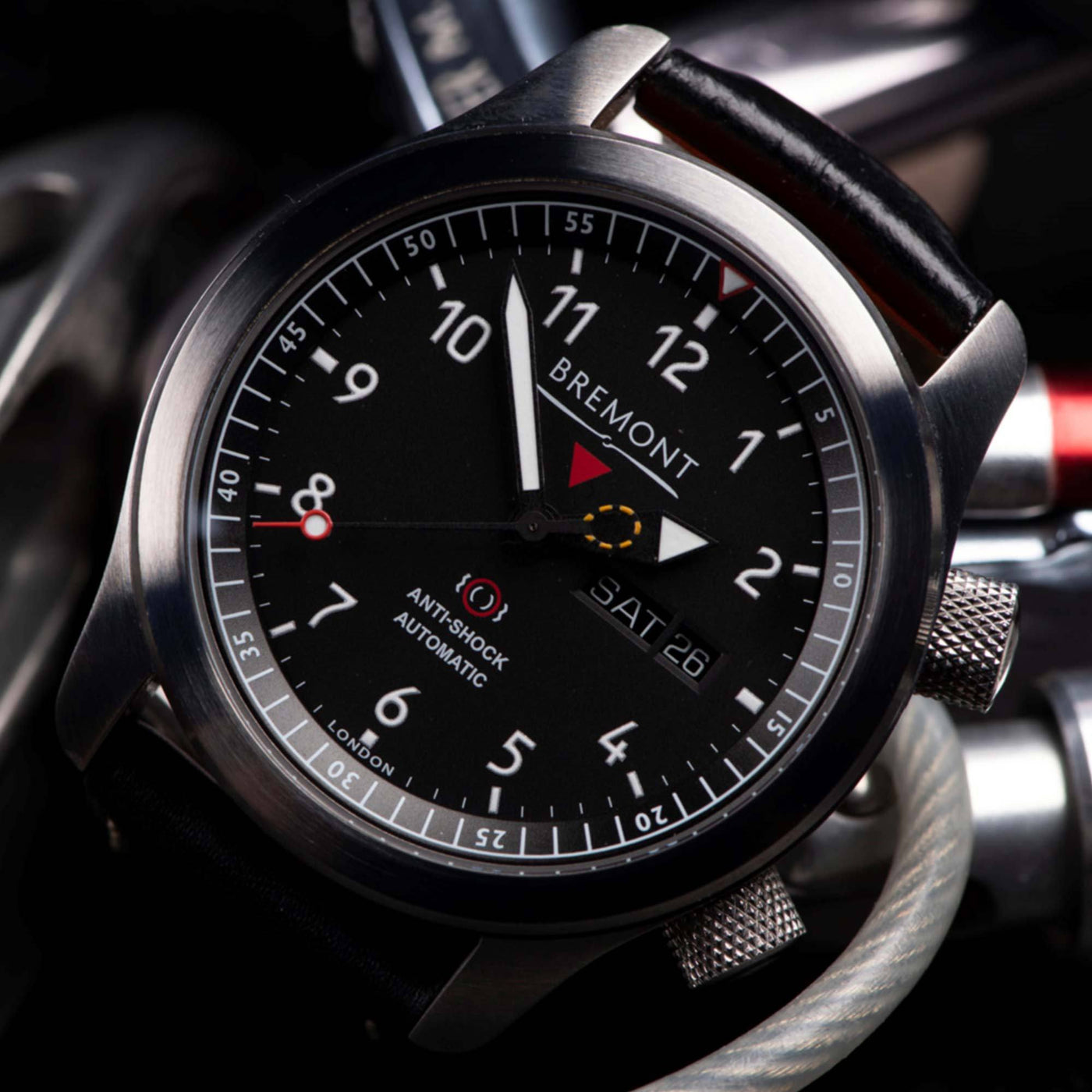 Bremont-MBII-BK-OR-watch-face