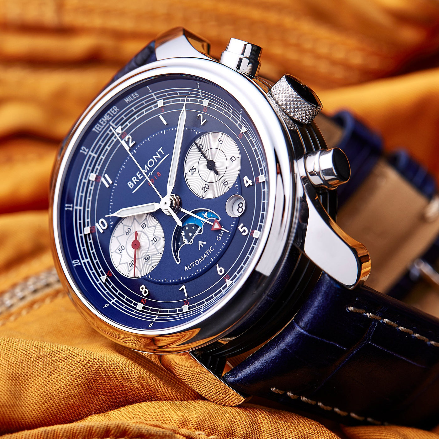 Bremont 1918 White Gold 1