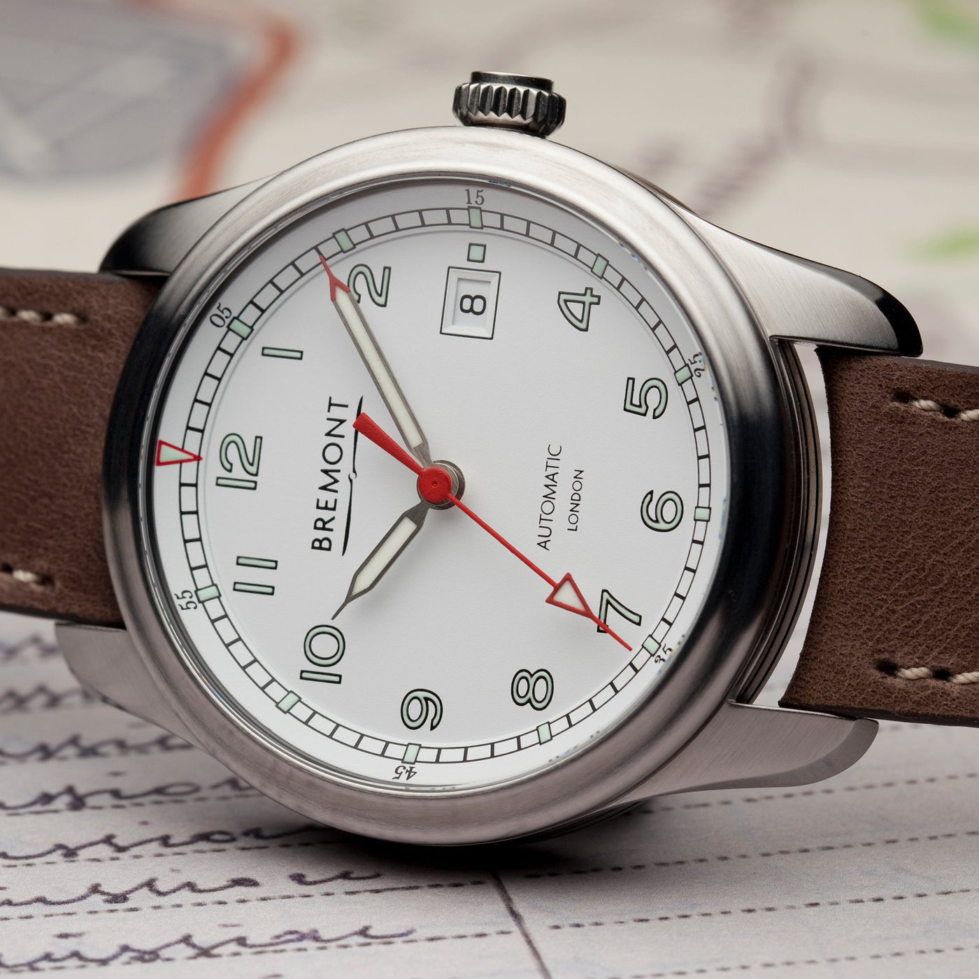 Bremont Airco Mach 1 White Lifestyle 1