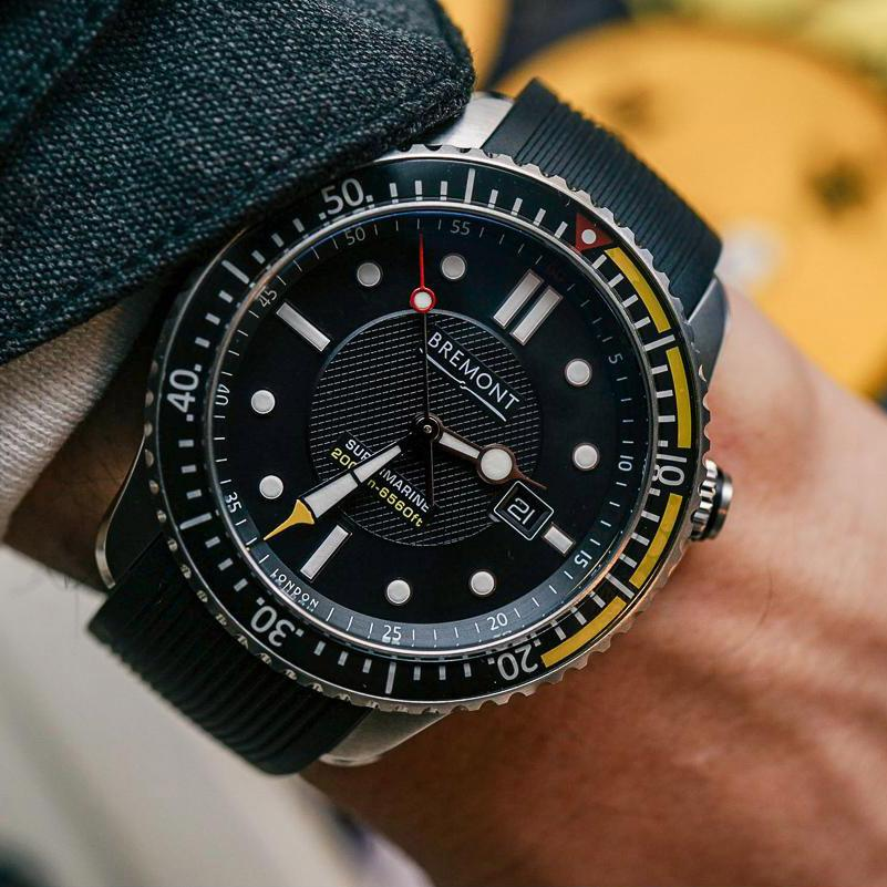 Bremont S2000 Yellow Topper