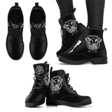 Berserker Leather Boot - Between Valhalla and Hel