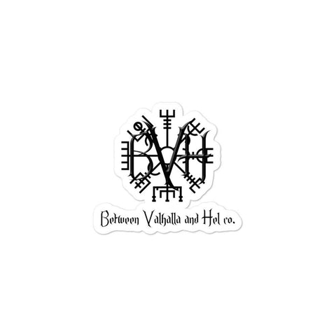 BVH Bubble-free stickers - Between Valhalla and Hel