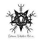 BVH PentaHelm Bubble-free stickers - Between Valhalla and Hel