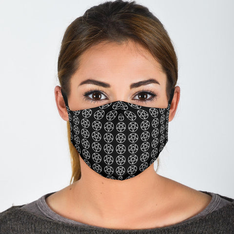 Pentagram Pattern Mask