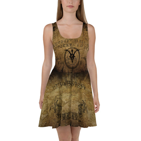 Ouija Board Skater Dress - Between Valhalla and Hel