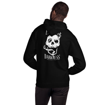 Embrace Darkness Hoodie - Between Valhalla and Hel