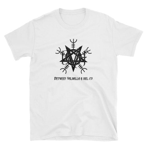 PentaHelm Unisex T-Shirt - Between Valhalla and Hel