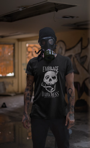 Embrace Darkness T-Shirt - Between Valhalla and Hel