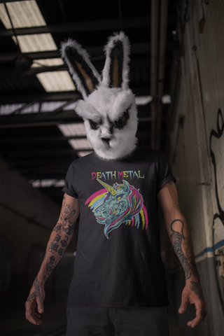 Death Metal Unicorn T-Shirt - Between Valhalla and Hel