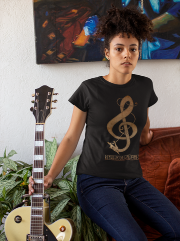 Norse Clef Women's T-Shirt - Between Valhalla and Hel