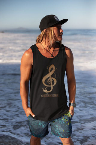 Norse Clef Tank Top - Between Valhalla and Hel
