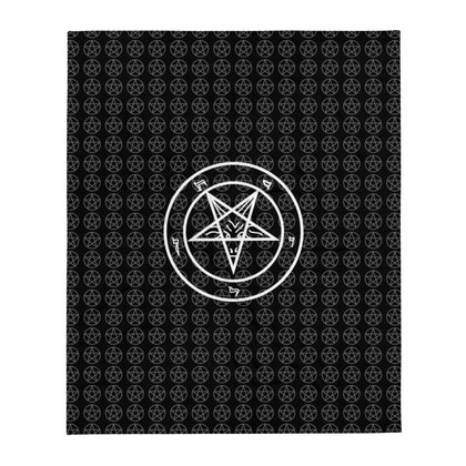 Pentagram Throw Blanket