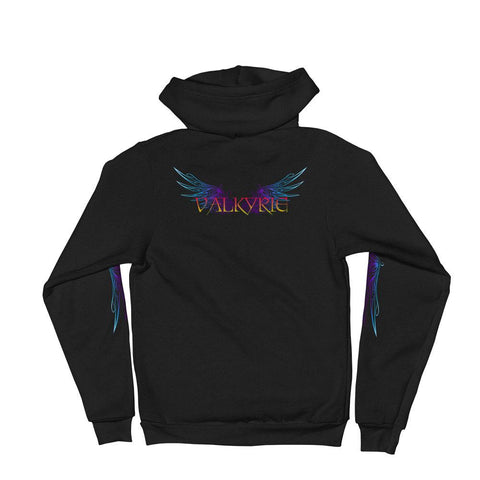 Valkyrie Hoodie sweater - Between Valhalla and Hel