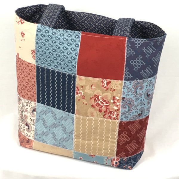 American Vintage Tote Bag - TLC Patterns