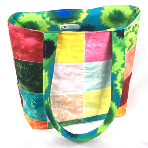 Botanical Oasis Tote Bag - TLC Patterns