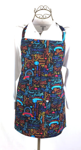 (Wholesale) Brite Inspirational Apron - TLC Patterns