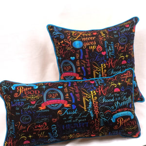 Brite Inspirational Accent Pillow