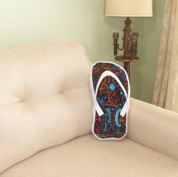 Brite Inspirational Flip Flop Pillow - TLC Patterns