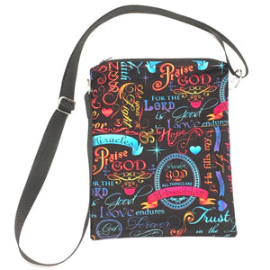 Brite Inspirational Cross-body Purse - TLC Patterns