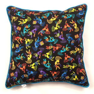 Brite Kokopelli Accent Pillow